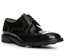 Schuhe Budapester Leder