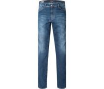 Herren Jeans Straight Cut Baumwoll-Mix jeans