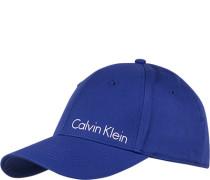Herren Calvin Klein Cap Baumwolle blau