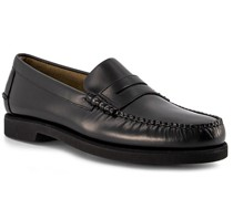 Schuhe Loafer Leder