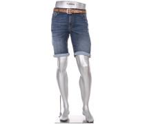 Jeansbermudas Bike, Regular Slim Fit, Coolmax 9oz