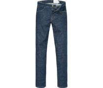 Herren Jeans Slim Fit Baumwoll-Stretch denim
