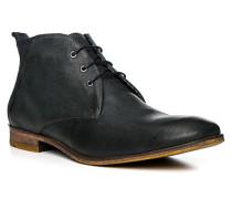 Herren Schuhe GUY Kalb-Rindleder blau