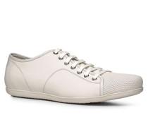 Herren Schuhe Sneaker Leder weiß weiß,weiß