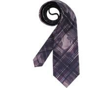 Herren Krawatte lila