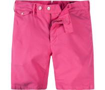 Herren Hose Short Baumwolle pink