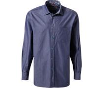Hemd Comfort Fit Baumwolle