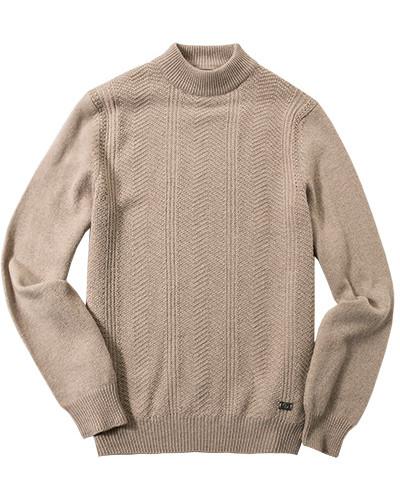 bogner herren herren pullover schurwolle kaschmir greige meliert beige reduziert. Black Bedroom Furniture Sets. Home Design Ideas