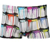 Herren Unterwäsche Shorts Mikrofaser bunt multicolor