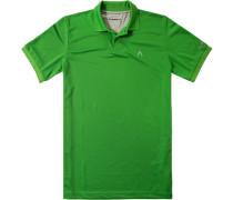 Herren Polo-Shirt Microfaser Cool Air grasgrün