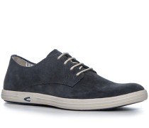 Herren Schuhe Sneaker Veloursleder navy blau