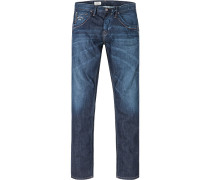 Herren Jeans Tooting Regular Fit Baumwolldenim jeansblau
