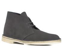 Herren Schuhe Desert Boots Veloursleder dunkelgrau