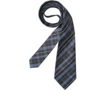 Herren Krawatte blau,grau