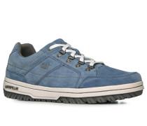 Herren Sneaker Veloursleder jeansblau