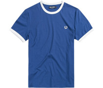 Herren T-Shirt Baumwolle blau