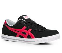 Herren Schuhe Sneaker Canvas schwarz schwarz,grau