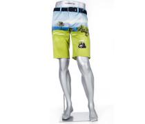 Herren Hose Bermudashorts Earnie, Regular Slim Fit, Baumwolle, multicolour multicolor