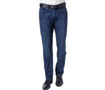 Herren Jeans, Baumwoll-Stretch, jenasblau