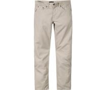 Herren Jeans, Baumwoll-Mix, beige