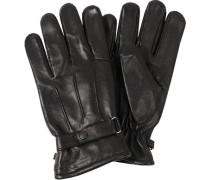 Herren  Handschuhe Nappaleder schwarz