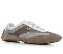 Herren Schuhe Sneaker 'Ocean Drive 4' Leder-Textil taupe braun