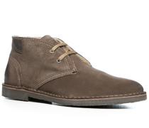 Herren Schuhe Desert Boots Kalbveloursleder taupe