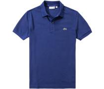 Polo-Shirt Slim Fit Baumwoll-Piqué