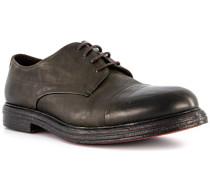 Schuhe Derby Leder verde