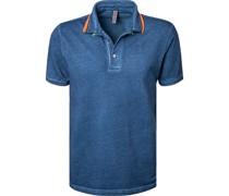 Polo-Shirt Baumwoll-Piqué jeans