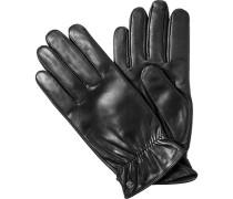 Herren ROECKL Touchscreen Handschuhe Leder schwarz