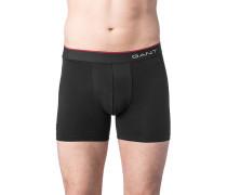 Herren Unterwäsche Shorts Baumwoll-Stretch schwarz