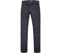 Herren Jeans Baumwoll-Mix dunkel