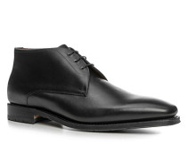 Herren Schuhe Schnürstiefeletten Kalbleder