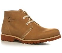 Herren Schuhe Stiefeletten Nappaleder natur beige,beige