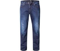 Jeans John Baumwoll-Stretch dunkel