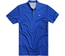 Herren Polo-Shirt Microfaser-Piqué Coolmax® royal