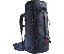 Herren Trekking-Rucksack, Mikrofaser, navy blau