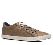 Herren Schuhe Sneaker Leder camel braun