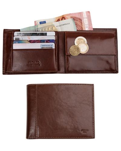 Geldbörse, Rindleder