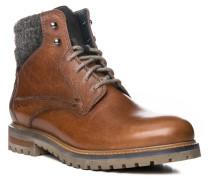Herren Schuhe Stiefelette Leder braun