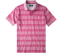 Herren Polo-Shirt Regular Fit Baumwoll-Piqué pink rosa