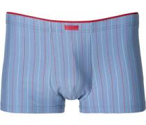 Herren Unterwäsche Trunk Baumwoll-Stretch -rot gestreift