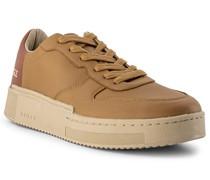 Schuhe Sneaker Leder hell