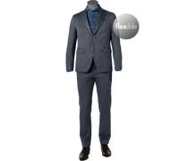 Anzug Modern Fit Jersey nacht