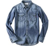 Herren Jeanshemd jeans