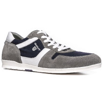 Schuhe Sneaker Veloursleder-Textil navy-