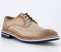 Schuhe Derby Leder cuoio
