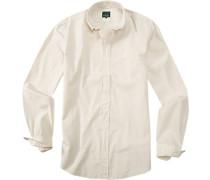 Herren Hemd, Baumwolle, creme beige