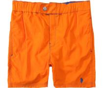 Herren Bademode Badeshorts Nylon orange